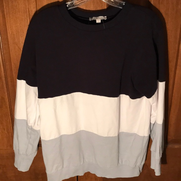 American Eagle Outfitters Tops - Color Blocked Long Sleeve Pullover